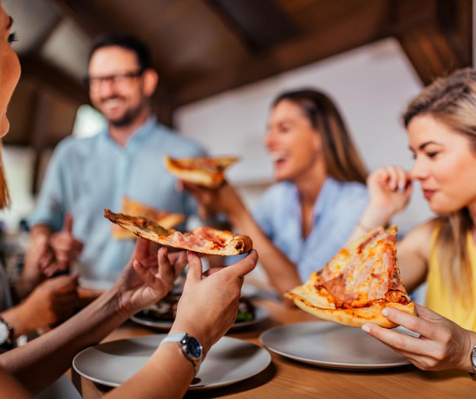pizza entre amis