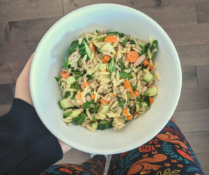 salade orzo et thon